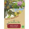 Jachère fleurie bio pour auxiliaires et pollinisateurs