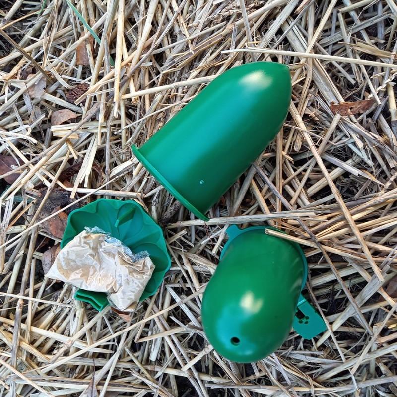 Capsule de phéromone pour lutter contre le cossus gâte bois. A placer dans un piège à phéromone.